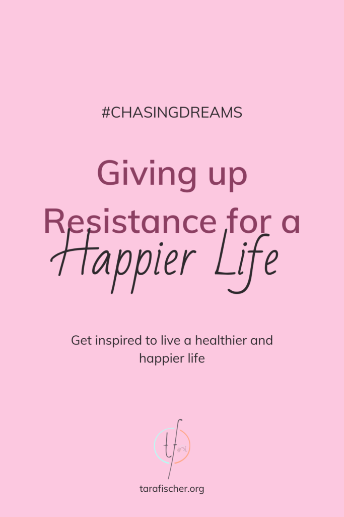 Giving up resistance